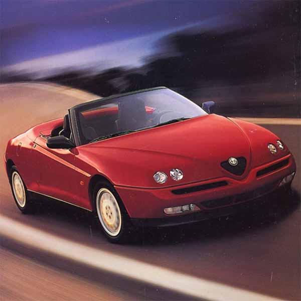 Alfa Romeo Spider Struts