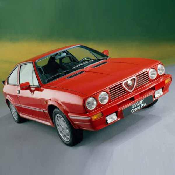 Alfa Romeo Sud Boot Struts