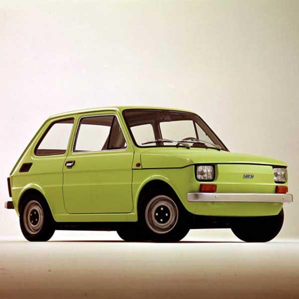 Fiat 126 Boot Struts