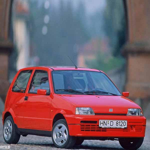 Fiat Cinquecento Boot Struts