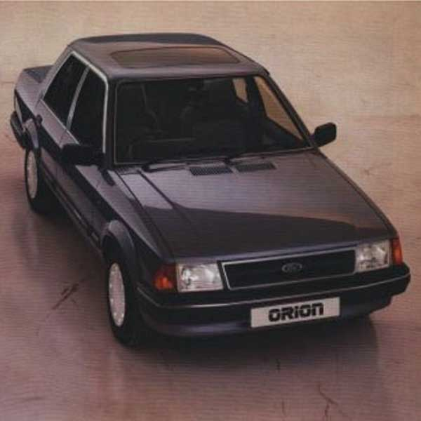 Ford Orion Boot Struts
