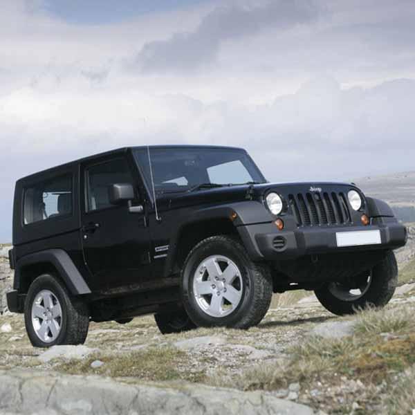 Jeep Wrangler Gas Struts