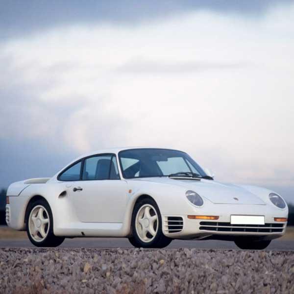 Porsche 959 Boot Struts