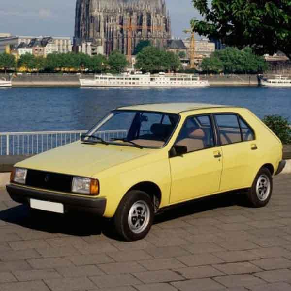 Renault R14 Boot Struts
