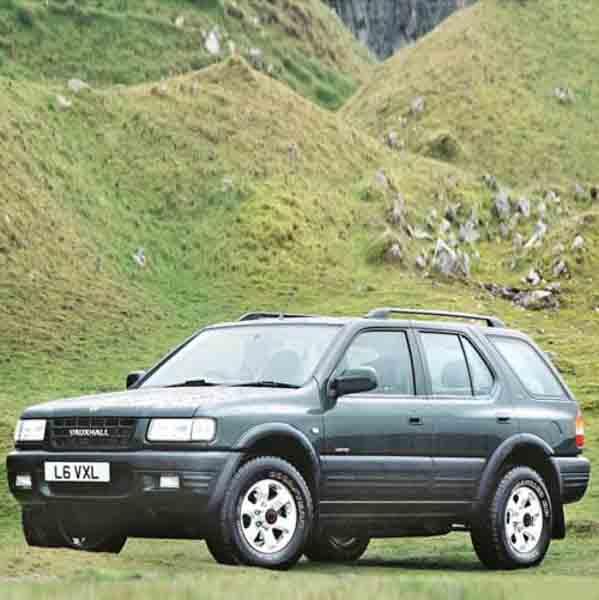 Vauxhall Frontera Window Strut